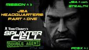 Splinter Cell Double Agent PS2 PCSX2 HD JBA – Миссия 3 Штаб-квартира JBA – Часть первая