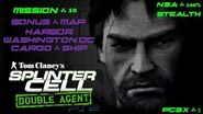Splinter Cell Double Agent PS2 PCSX2 HD NSA – Миссия 10 Борт – Гавань. Вашингтон