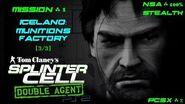 Splinter Cell Double Agent PS2 PCSX2 HD NSA – Миссия 1 Исландия – Фабрика боеприпасов (3 3)