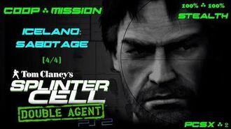 Splinter Cell Double Agent Coop PS2 PCSX2 HD Прохождение – Миссия 1 Исландия – Саботаж (4 4)