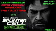 Splinter Cell Double Agent Coop PS2 PCSX2 HD Demo – Миссия 3 Киншаса – Старая шахта