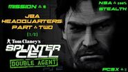 Splinter Cell Double Agent PS2 PCSX2 HD NSA – Миссия 8 Штаб-квартира JBA – Часть вторая (1 2)