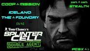 Splinter Cell Double Agent Coop PS2 PCSX2 HD Прохождение – Миссия 1 Исландия – Литейная (3 4)