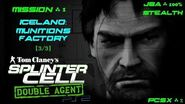 Splinter Cell Double Agent PS2 PCSX2 HD JBA – Миссия 1 Исландия – Фабрика боеприпасов (3 3)