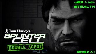 Splinter Cell Double Agent PS2 PCSX2 HD Полное прохождение за JBA АДБ – Все миссии Full Extended