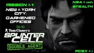 Splinter Cell Double Agent PS2 PCSX2 HD NSA – Миссия 9 Нью-Йорк – Темные офисы (2 3)