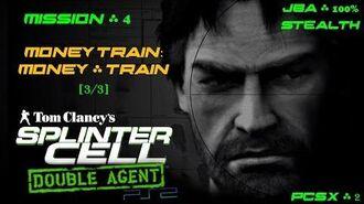 Splinter Cell Double Agent PS2 PCSX2 HD JBA – Миссия 4 Поезд – Денежный поезд (3 3)