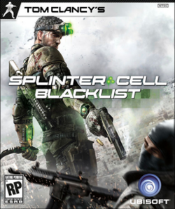 Splinter Cell Blacklist cover