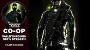 Splinter Cell 3 Chaos Theory Coop PS2 PCSX2 HD Прохождение – Миссия 3 Железнодорожный вокзал