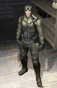 Sam Fisher jungle camo
