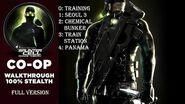 Splinter Cell 3 Chaos Theory Coop PS2 PCSX2 HD Полное прохождение – Все кооп миссии Full Extended