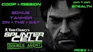Splinter Cell Double Agent Coop PS2 PCSX2 HD Прохождение – Миссия 4 Бонусы – Танкер в пути