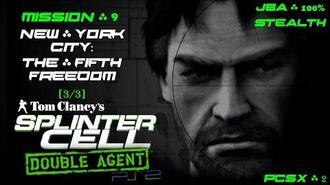 Splinter Cell Double Agent PS2 PCSX2 HD JBA – Миссия 9 Нью-Йорк – Пятая свобода (3 3)