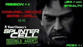 Splinter Cell Double Agent PS2 PCSX2 HD JBA – Миссия 5 Консумель. Мексика – Бомба (2 2)