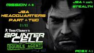 Splinter Cell Double Agent PS2 PCSX2 HD JBA – Миссия 8 Штаб-квартира JBA – Часть вторая (1 2)