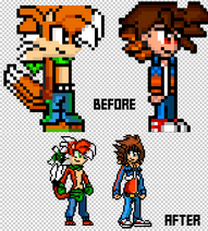 Tigzon and Tai Z. Takara improved sprites