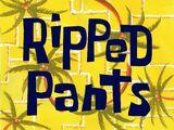 Rozdarte spodnie