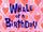 Wielorybie urodziny