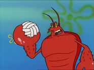 Larry The Lobster (Ripped Pants)