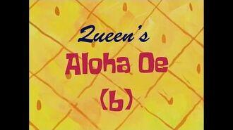 SpongeBob Music Queen's Aloha Oe (b)