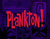Plankton-episode