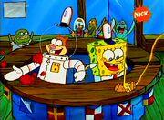 SpongeBob Kanciastoporty 1 (odc. 14) - Wehikuł czasu, Karate siekacze-(038648)15-57-29-