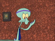 Squidward as a Dancer