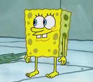 SpongeBob nago