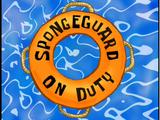 SpongeBob ratownik