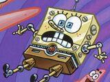 Robot SpongeBob z alternatywnego wymiaru