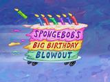 Mega-łał urodziny Spongeboba!