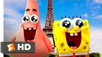 The SpongeBob Movie Sponge Out of Water (2015) - The Real World Scene (6 10) Movieclips