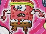 Czerwony SpongeBob