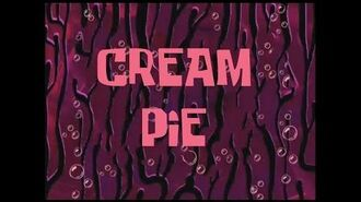 SpongeBob Music Cream Pie