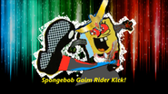 SpongeBob Gaim Rider Kick