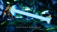 Final Attack Rider Diend