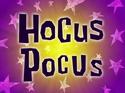 Hocus Pocus title card