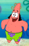 Patrick Wearing Sideburns