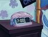 Pearl's alarm clock