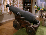 Potty with a cannon