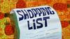 Shopping List title card