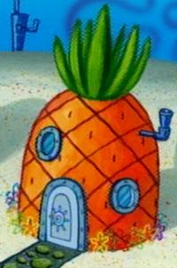 SpongeBob's pineapple house in Season 5-3