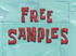 Free Samples title card