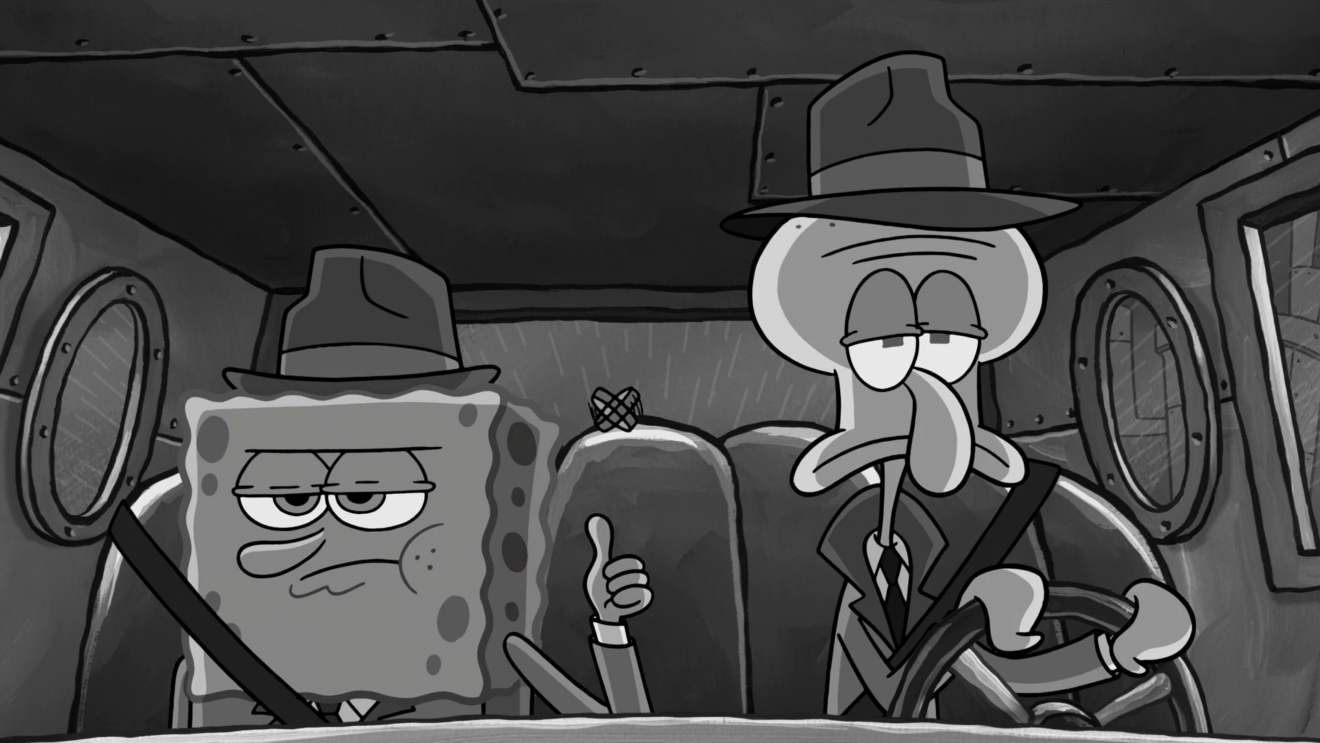 squid noir encyclopedia spongebobia fandom powered by wikia. Black Bedroom Furniture Sets. Home Design Ideas