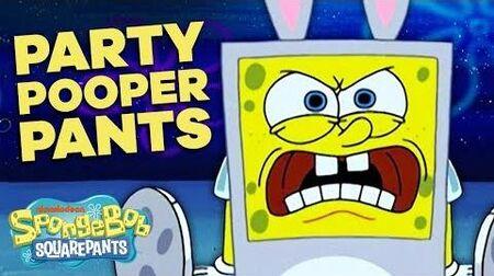 Party Pooper Pants in 5 Minutes! 🐰 SpongeBob