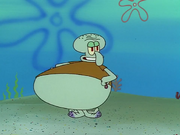 Fat Squidward