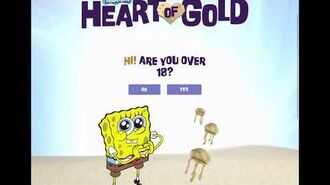 Submitting A Picture For SpongeBob Heart Of Gold Mosaic