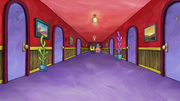 Hotel Halibut hallway