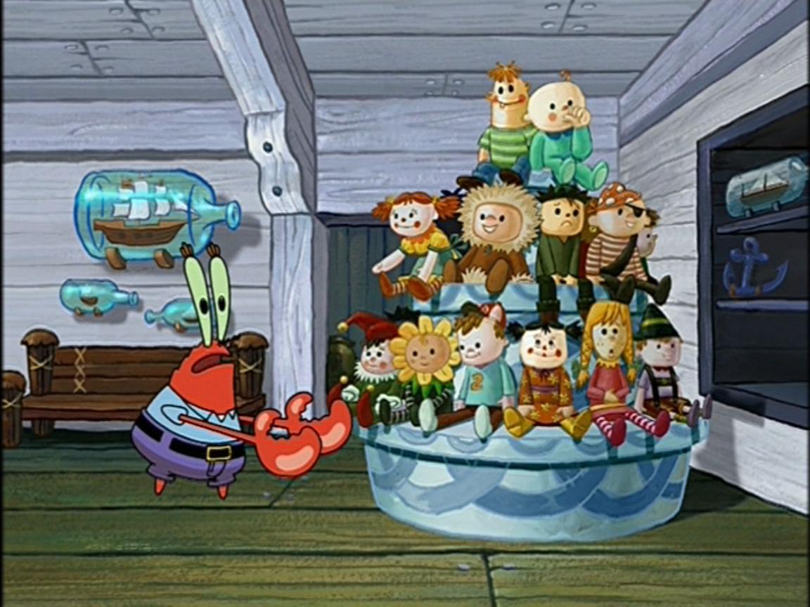 Mr Krabs Doll A Rama Encyclopedia Spongebobia Fandom