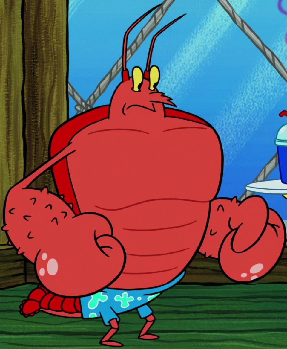 Larry the Lobster | Encyclopedia SpongeBobia | Fandom